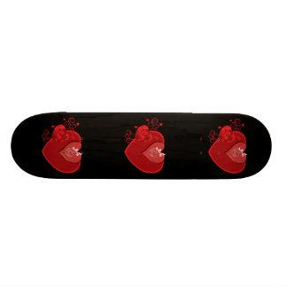 Sentiments profonds d'amour skateboard customisable