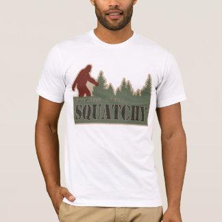 Sentir plutôt Squatchy T-shirt