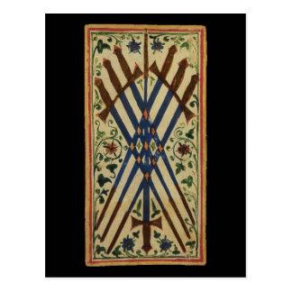 Sept de la carte de tarot d'épées