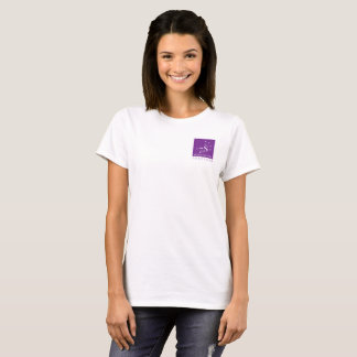 Sept soeurs ajustent ensemble la chemise de logo t-shirt