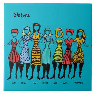 Sept soeurs carreau