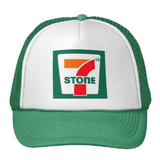 Septième casquette en pierre de camionneur