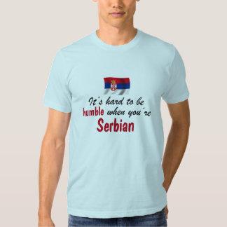 Serbe humble t-shirts