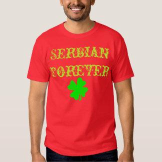 Serbe pour toujours t-shirt