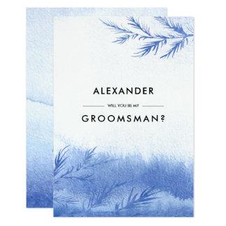 Serez-vous mon Groomsman ? Invitations faites sur