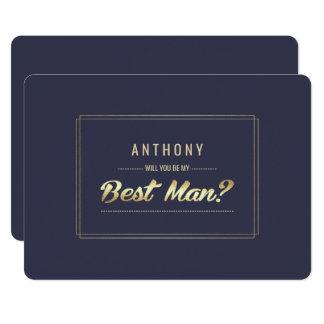Serez-vous mon meilleur homme ? Invitations faites