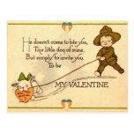 Serez-vous mon Valentine ? Carte postale