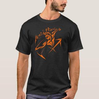 Série 1 orange de Sagittaire T-shirt