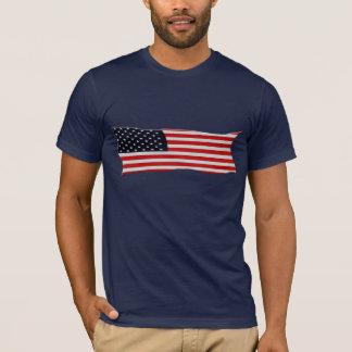 Série AMÉRICAINE de DRAPEAU des Etats-Unis USA T-shirt