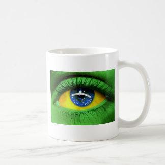 Serie Brésil Mug Blanc