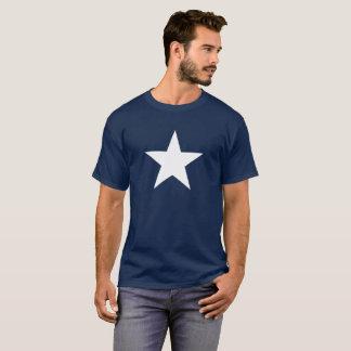 SÉRIE de BRAVOURE - étoile blanche T-shirt