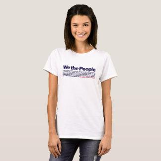 SÉRIE de BRAVOURE - nous les personnes….Préambule T-shirt