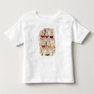 Série de cruches pour l'analyse d'urine t-shirt pour les tous petits