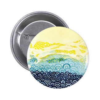 Série de Seigaiha - étreinte Badge Avec Épingle