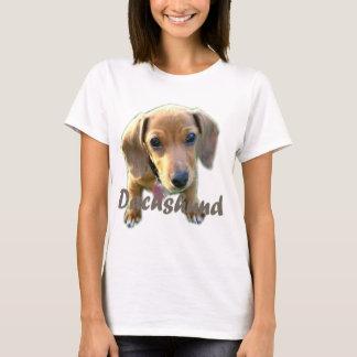 Série de teckel t-shirt