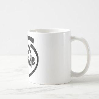 Serie Linux à l'intérieur Mug Blanc