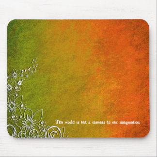 Série rouge Mousepad de conception de vert de Tapis De Souris
