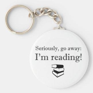 Sérieusement, aller-en : Je lis ! Porte-clé Rond