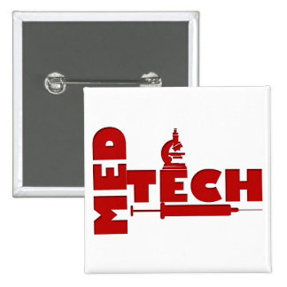 SERINGUE DE MICROSCOPE DE MED TECH (TECHNOLOGUE MÉ BADGE