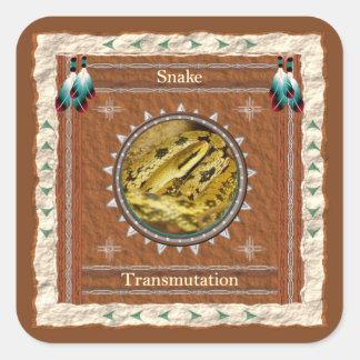 Serpent - autocollants de transmutation - 20 par