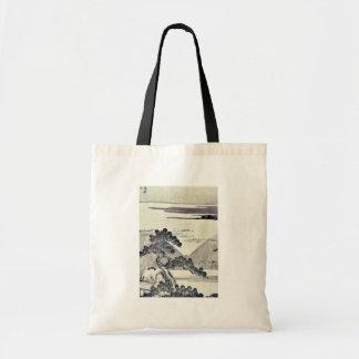 Serpent chassant le mont Fuji par Katsushika Hoku Sac