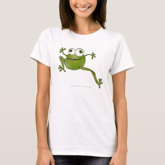 Serpent courant - grenouille - T-shirt de femmes