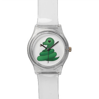 Serpent Emoji Montres