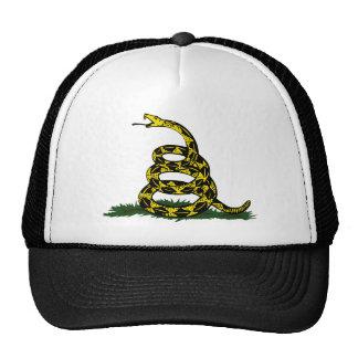 Serpent enroulé de drapeau de Gadsden Casquette