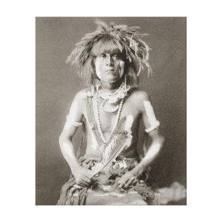 Serpent indien Priest 1910 Toile Tendue