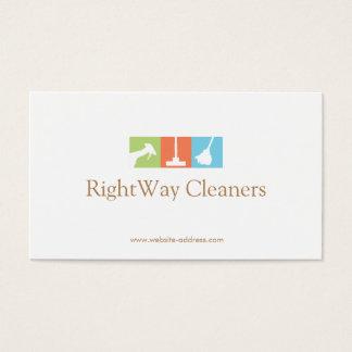 Service de nettoyage de logo de décapant de cartes de visite