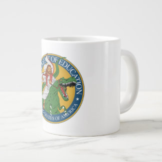 Service d'éducation - Jésus sur un T-Rex Mug