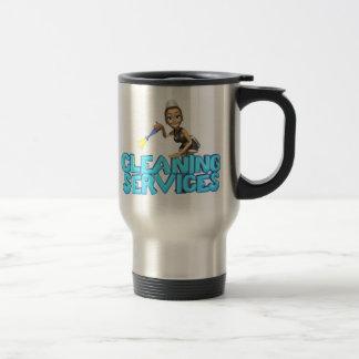 Services de nettoyage mug de voyage