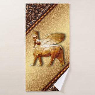 Serviette assyrienne 9The réglé Lamassu d'or