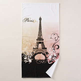 Serviette de Bath de Paris de Tour Eiffel