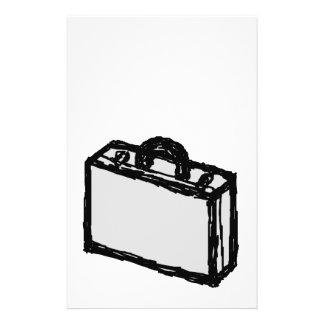 Serviette de bureau ou valise de voyageurs. Croqui Prospectus 14 Cm X 21,6 Cm