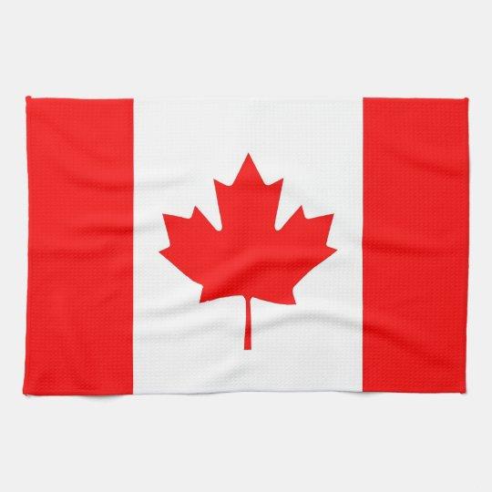 Serviette de cuisine avec le drapeau du canada for Serviette cuisine