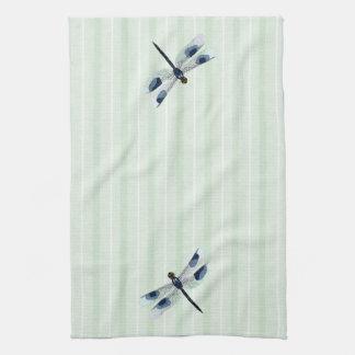 Serviette de cuisine chic de libellule serviettes éponge