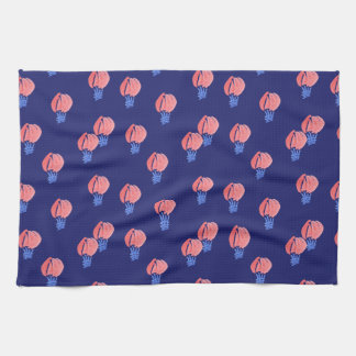 Serviette de cuisine de ballons à air