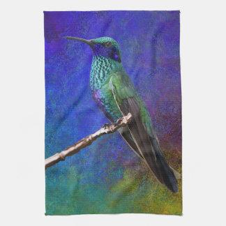 Serviette de cuisine de colibri