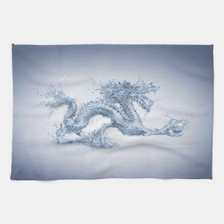 Serviette de cuisine de dragon d'eau linge de cuisine