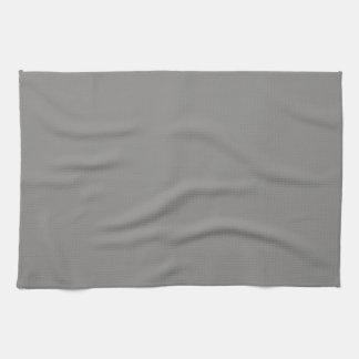 Serviette de cuisine gris-clair solide linge de cuisine