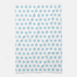 Serviette de cuisine mignonne de flocon de neige serviette pour les mains