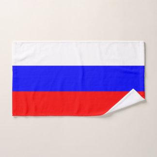 Serviette de main avec le drapeau de la Russie