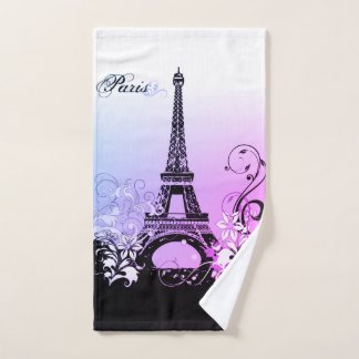 Serviette de main de Paris de Tour Eiffel