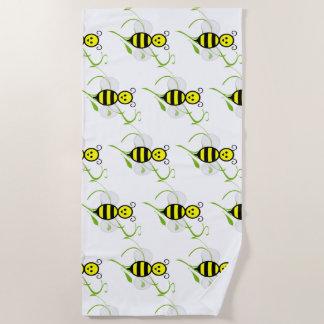 Serviette De Plage Aussi occupé comme abeille
