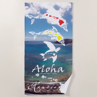 Serviette De Plage Baie Hawaï de Hanauma
