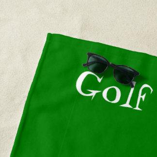 Serviette De Plage Conception personnalisée de golf