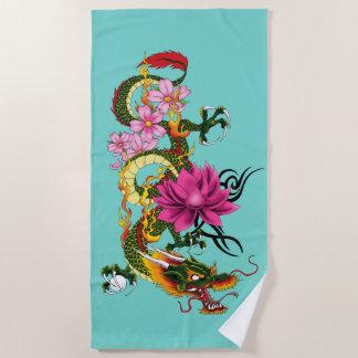 Serviette De Plage Dragon chinois
