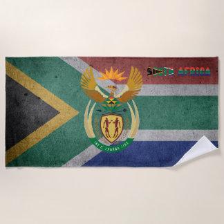 Serviette De Plage Drapeau sud-africain