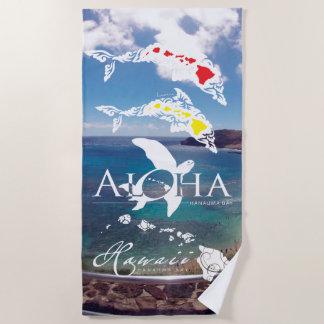 Serviette De Plage Îles d'Hawaï